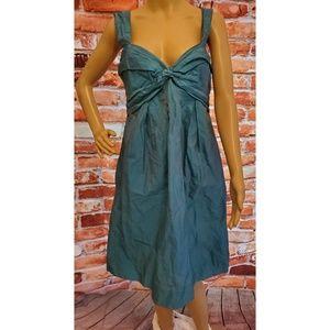 EUC Nicole Miller Blue Dress Size 8